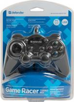 Defender Game Racer Turbo RS3 Wired gamepad Black PC/PS2/PS3