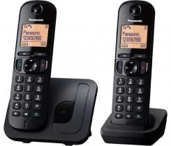 Panasonic KX-TGC212PDB DUO DECT Black